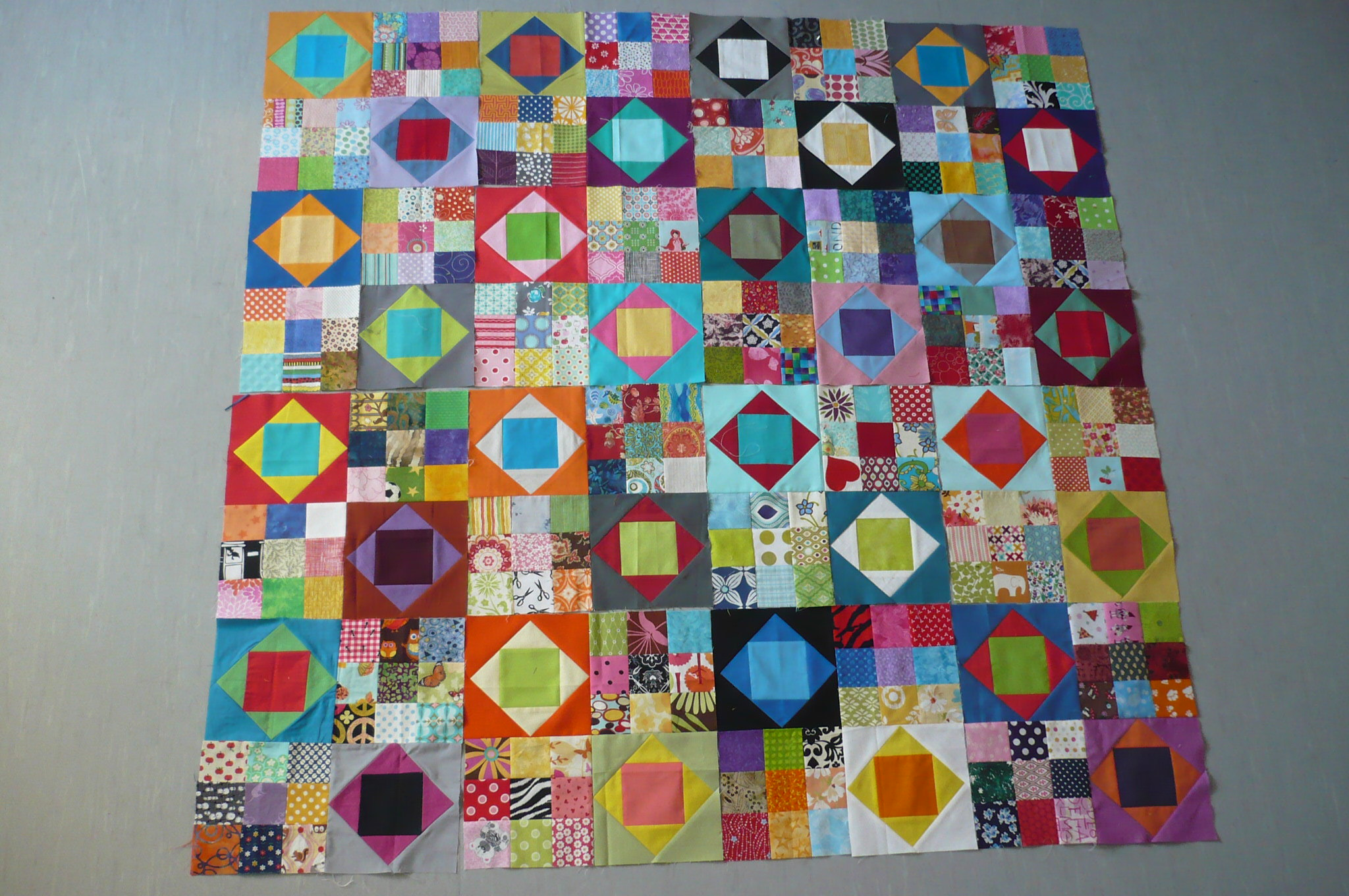 bee blocks + extra blocks - aiming for a 4x5 layout ..
