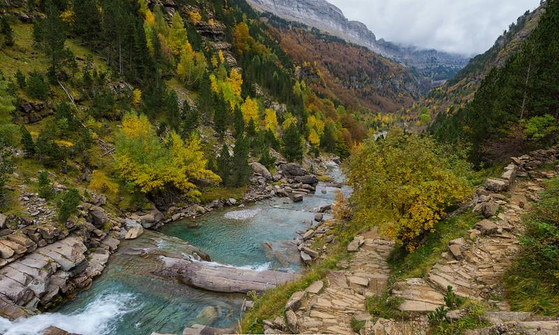 El rio del Valle de Ordesa