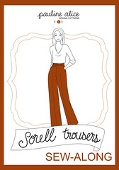 tutorial, sorell trousers, sew-along, trousers pattern tutorial