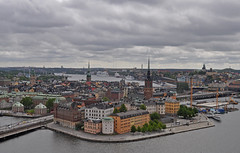 Sweden - Stockholm - view from Stadshuset