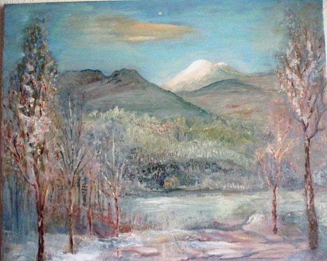 14. Предчувствие весны (Мой Кавказ) | por liudmilanikitina1