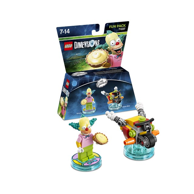 LEGO Dimensions Amazon: 71227 - The Simpsons Krusty Fun Pack