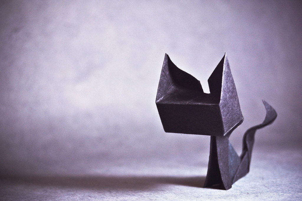 Cat Head Origami Origami Cat Guspath go