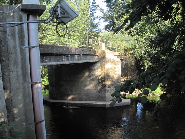 Puente de la ruta del Tambre en Sigüeiro