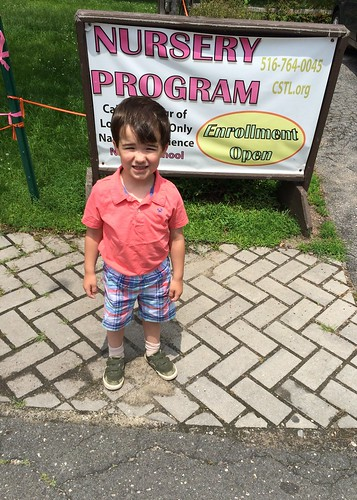 James's Nursery School Graduation 2015