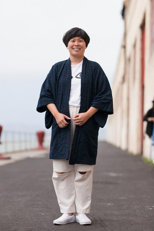 kimonoeyes street style, street fashion, women, Fort Mason, San Francisco, Quick Shots