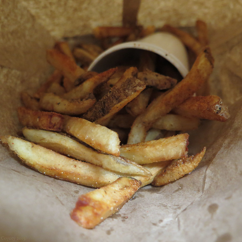 Five Guys Cajun fries