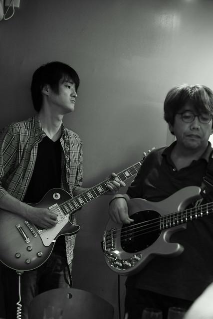 KOKOKAYO with Yoji Hamada and ずにあ live at Mviringo, Kawasaki, 21 Jun 2015. 122