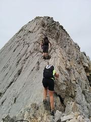 Klettersteigpassage Aufstieg Neunerspitze