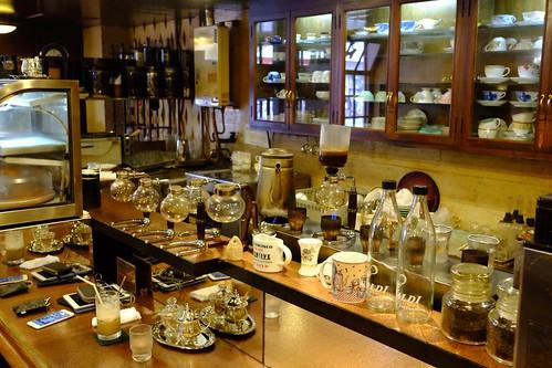 カフェ・カルディ(横浜・綱島の喫茶店):カウンター