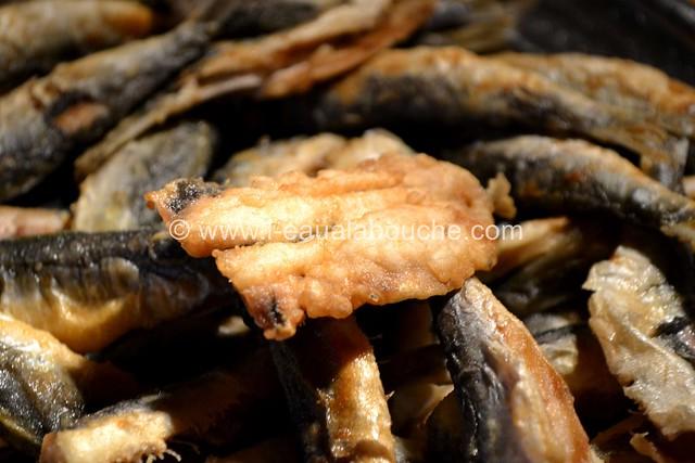 Friture d'Anchois-Boquerones Fritos © Ana Luthi Tous droits réservés