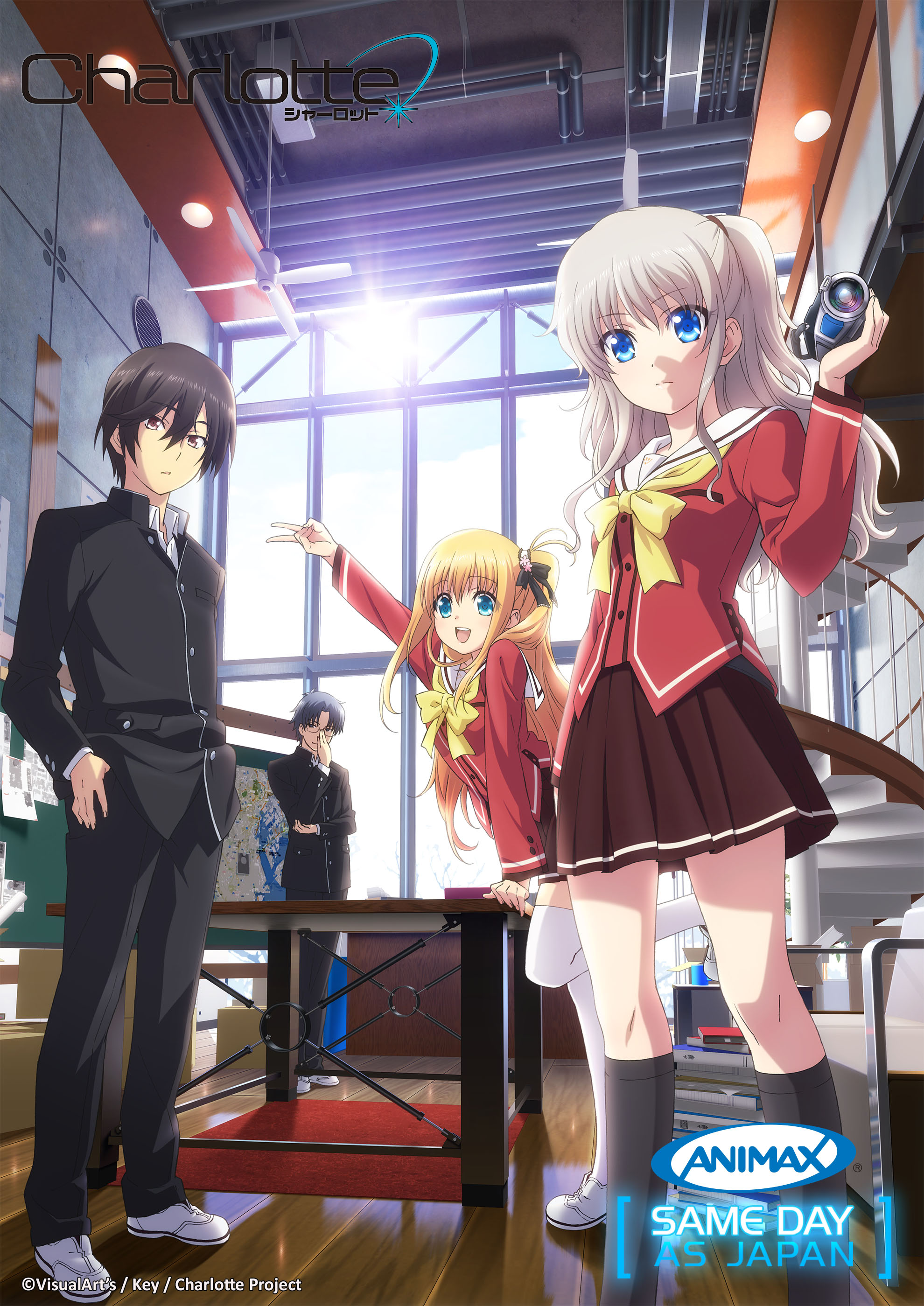 Animax Asia to Air Charlotte Same Day as Japan