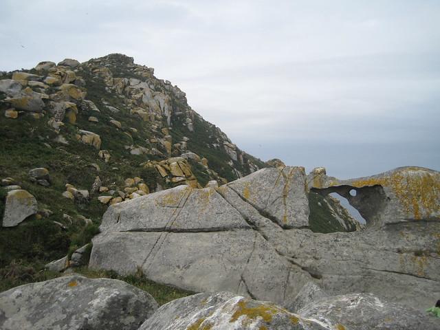 Pedra da Campá en las Islas Cíes