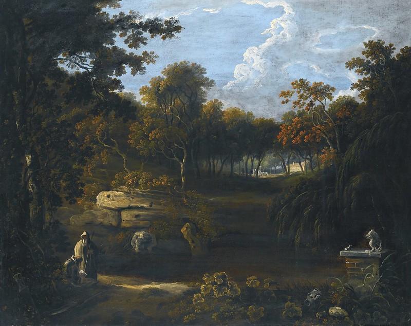 Studio of Richard Wilson, R.A. - Solitude (c.1762)