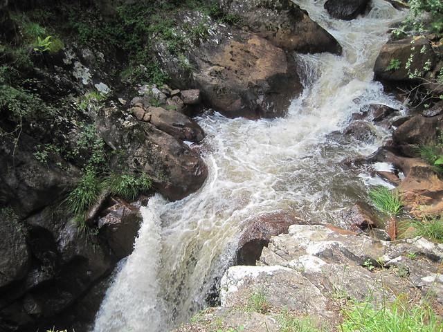 Río Lañas en el PR-G 121 Ruta dos Tres Ríos