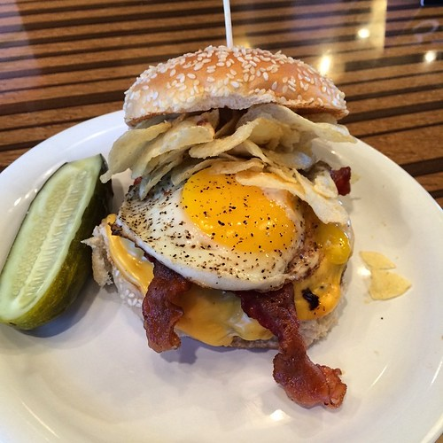 Bobby's Burger Palace, 'crunchified Brunch Burger'. Image: Tom Simpson.