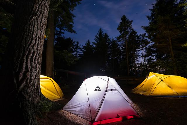 Adirondack Campsite