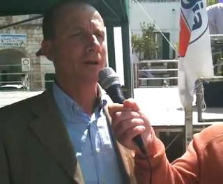 Casamassima- L'ex sindaco Birardi in una intervista dell'epoca