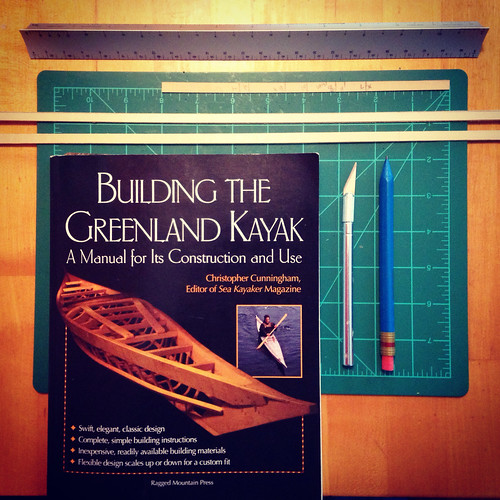 Greenland Kayak model in process