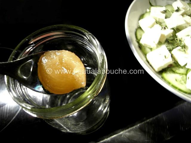 Salade de Concombre au Feta Vinaigrette © Ana Luthi Tous droits réservés 04