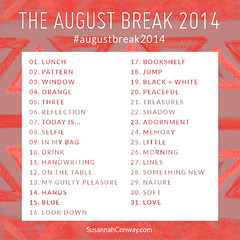 The August Break by SusannahConway
