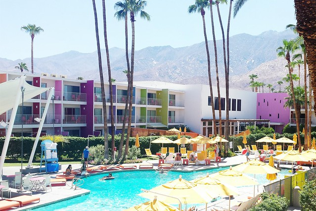 our vacation // the saguaro palm springs