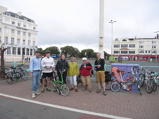 The start at the Palace pier