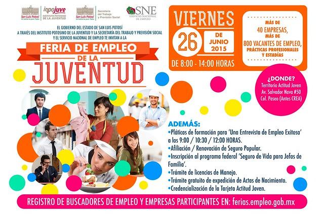 2ª. Expo Empleo de la Juventud 2015