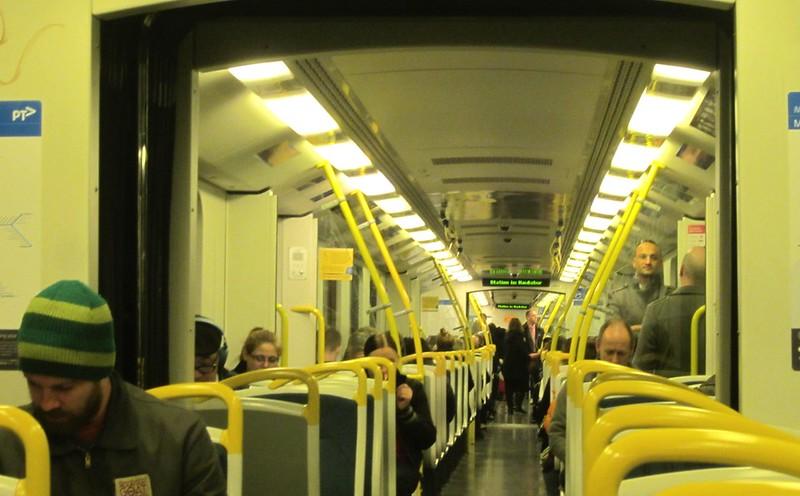 Walk-through Siemens train