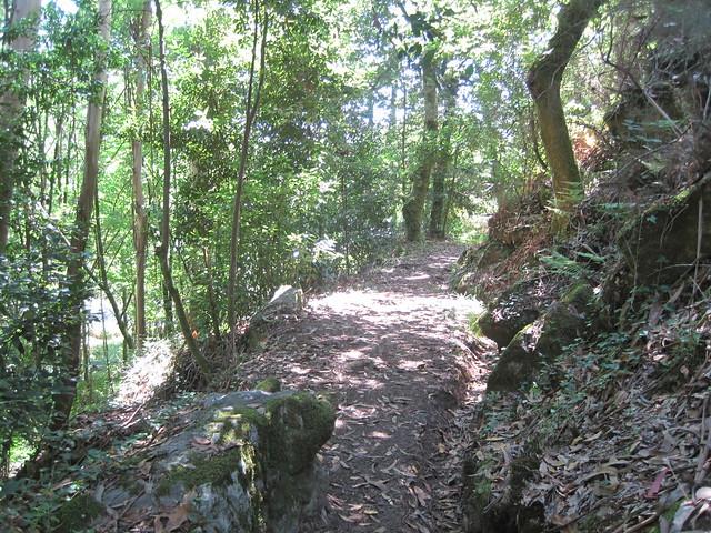 Sendero en el PR-G 102 Sendeiro dos Muíños do Río Maior