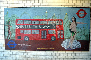Buses this way mosaic