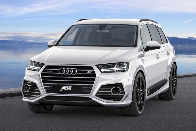 New Audi Q7 gets complete makeover from ABT Sportsline