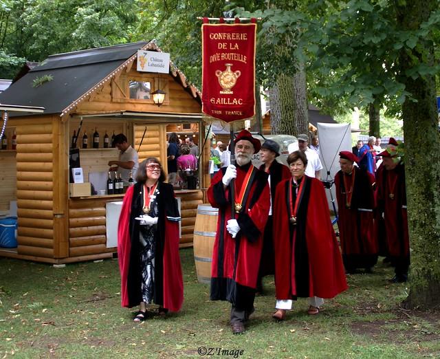 Inauguration officielle  de la Fête des vins de Gaillac 2014