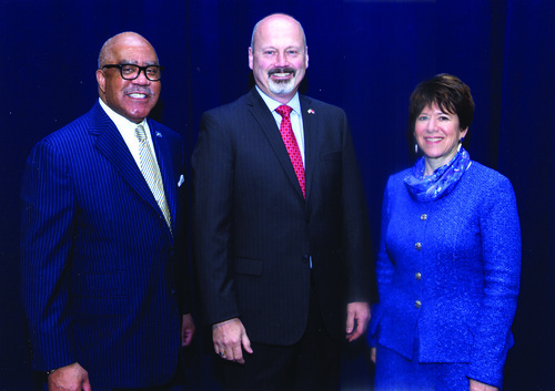 Dr. Seymour Welcomed at AACC Convention | by clevelandstatecc