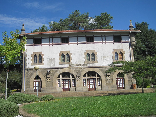 Edificio del Área Recreativa Estación de Pontraga - Ordes