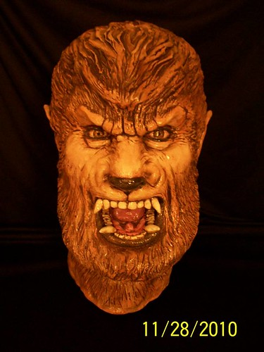 BrazenMonkey costume design and sculpting by John Marks - Wolfman