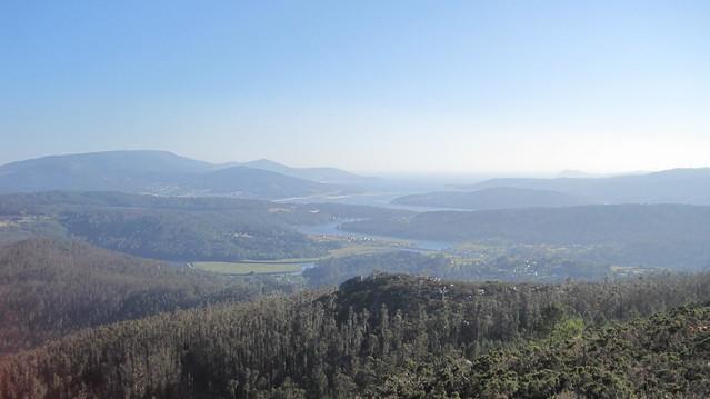 Ría de Muros e Noia en el Ruta Ponte Nafonso - Tambre