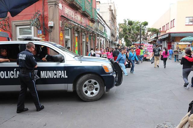 Se mantienen los rondines de vigilancia en la capital potosina