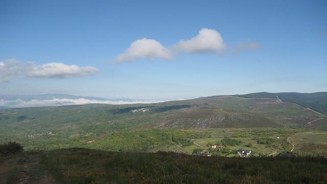 Vistas Vilanova en la Ascensión a Pena Trevinca