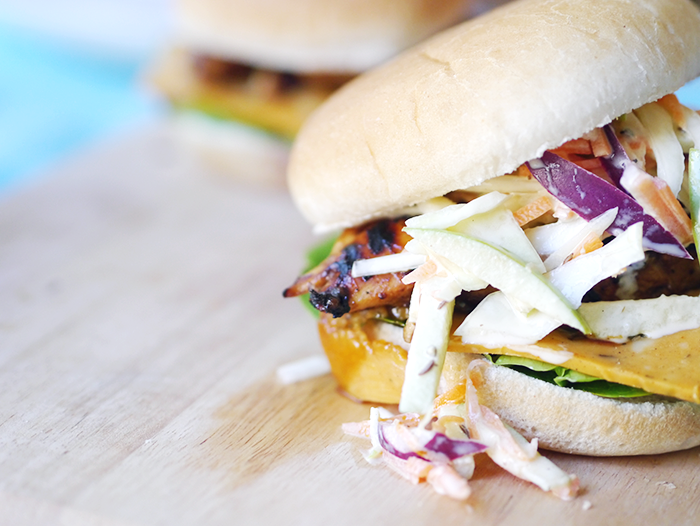 jim beam bbq chicken burgers apple slaw recipe 5