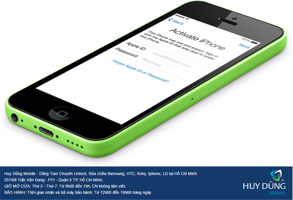 Cho hỏi về nơi nào ở tại Sài Gòn uy tín bảo đảm chuyên mở khóa iCloud iPhone, iPad