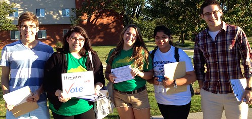 Student Neighborhood Canvassing in Bowling Green