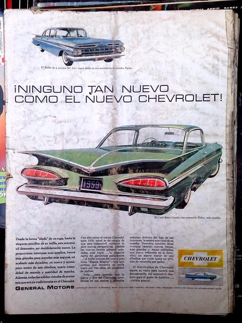 Chevrolet 1959 - Life en Español, 9 de marzo de 1959