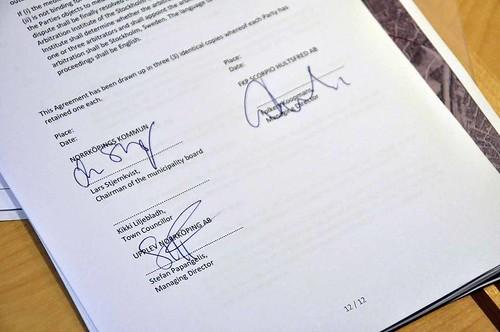 Undertecknat