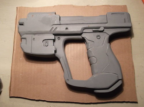 Preparando Arma para molde