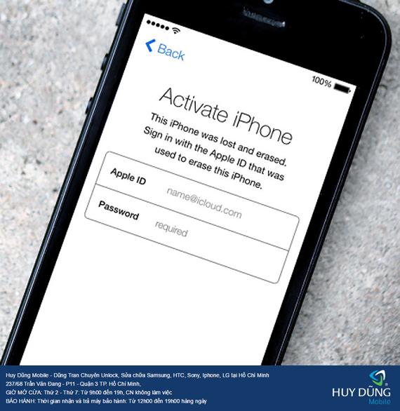 Cho lời khuyên về chỗ nào ở  trung tâm SG uy tín chất lượng chuyên mở khóa iCloud iPhone, iPad