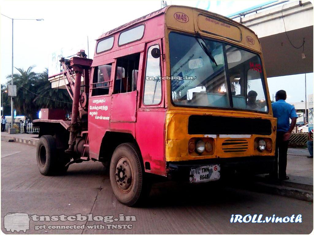 TMN 8648  Recovery of Anna Nagar Depot.