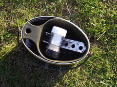 wee trangia pot grabber packs neatly in the kuksa by Alan 13-7