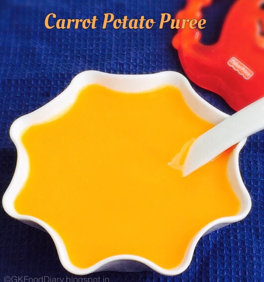 carrot potato Puree