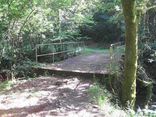 Puente en el PR-G 121 Ruta dos Tres Ríos
